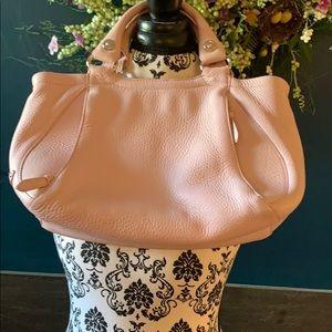 Cole Haan pink leather handbag